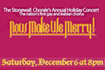 Stonewall Chorale: Now Make We Merry