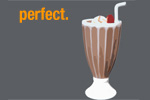 The Perfect Chocolate Milkshake