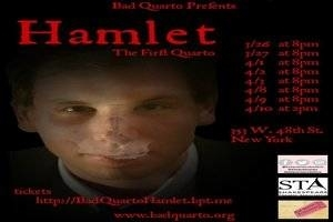 The Tragicall Historie of Hamlet Prince of Denmarke