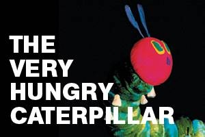 The Very Hungry Caterpillar and other Eric Carle
