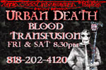 Urban Death Blood Transfusion