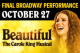 Beautiful — The Carole King Musical