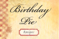 Birthday Pie Tickets - New York