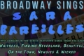 Broadway Sings Sara Bareilles Tickets - New York