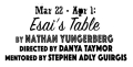 Esai's Table Tickets - New York City