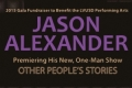 Jason Alexander's Other People's Stories Tickets - Los Angeles