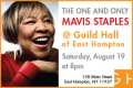 Mavis Staples in Concert Tickets - Hamptons