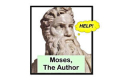 Moses, The Author Tickets - New York City