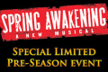 Spring Awakening Tickets - Chicago