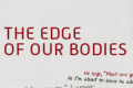 The Edge of Our Bodies Tickets - New York City