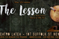 The Lesson Tickets - Off-Off-Broadway