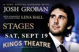 A Special Evening With Josh Groban: Stages