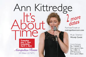Ann Kittredge: It's About Time