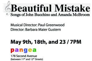 Beautiful Mistake: The Songs of John Bucchino and Amanda McBroom