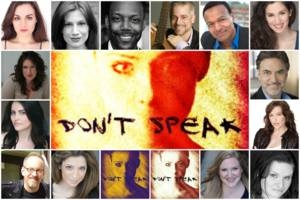 Don't Speak - A Cabaret Benefit for Reproductive Rights