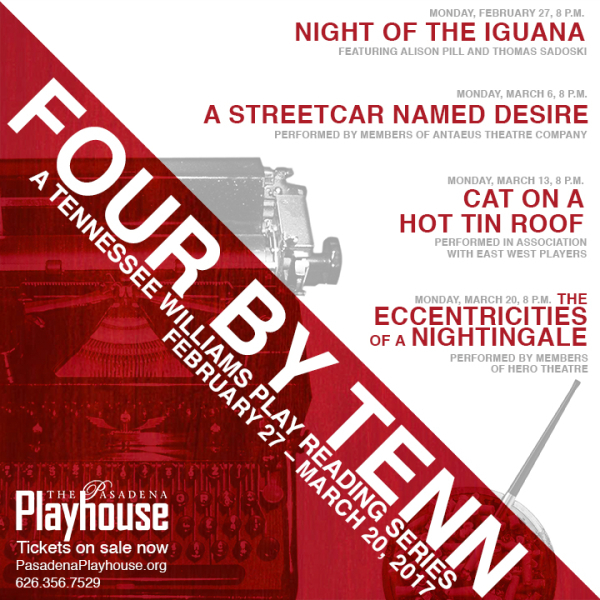 Four by Tenn: A Tennessee Williams Play Reading Series