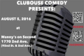 Club House Comedy Show Tickets - New York City