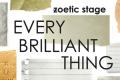 Every Brilliant Thing Tickets - Miami