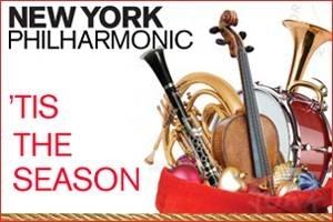 Holidays with the NY Philharmonic! Messiah, Holiday Brass, & more.