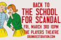 Drunk Restoration Comedy: The School for Scandal Tickets - Off-Off-Broadway