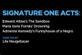 Signature Plays: The Sandbox, Drowning, Funnyhouse of a Negro Tickets - Off-Broadway