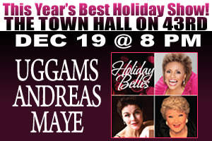 The Three Holiday Belles: Leslie Uggams, Christine Andreas, Marilyn Maye