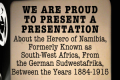 We are Proud to Present a Presentation About the Herero of Namibia, Formerly Known as South-West Africa, From the German Sudwestafrika, Between the Years 1884-1915 Tickets - Houston