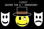 Anyone For A Classy Threesome?