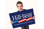 Danny Visconti is Hill-Bent: My Night with Hillary Clinton
