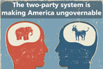 Intelligence Squared U.S. Debate Series: The two-party system is making America ungovernable