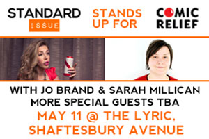 Standard Issues Stands Up for Comic Relief