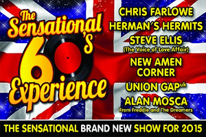 The Sensational 60's Experience - 50th Anniversary Tour