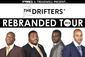 The Drifters - The Rebranded Tour 2015