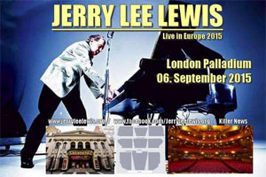 Jerry Lee Lewis - Jerry Lee Lewis's 80th Birthday Farewell UK Tour