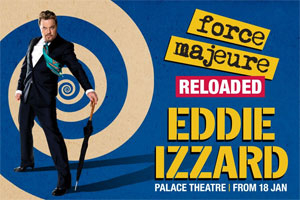 Eddie Izzard - Force Majeure: Reloaded