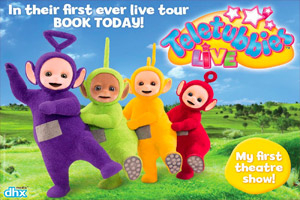 Teletubbies Live - Big Hugs