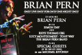 Brian Pern - Only Live Only for Only One Night Only Tickets - London