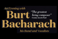 Burt Bacharach Tickets - London