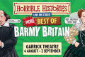 Horrible Histories - Barmy Britain - The Best of Barmy Britain Tickets - London