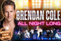 Brendan Cole - All Night Long Tickets - Dunfermline