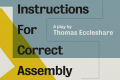 Instructions for Correct Assembly Tickets - Off-West End