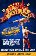 La Soiree - Christmas in Leicester Square