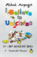 I Believe in Unicorns Tickets - West End