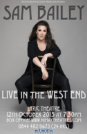 Sam Bailey - Live in the West End Tickets - West End