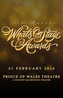 16th Annual WhatsOnStage Awards Tickets - West End
