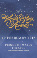 17th Annual WhatsOnStage Awards Tickets - West End