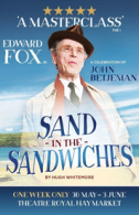 Sand in the Sandwiches Tickets - West End
