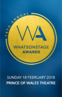 18th Annual WhatsOnStage Awards Tickets - West End