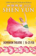 Shen Yun Tickets - West End