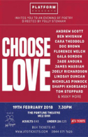 Choose Love Tickets - West End